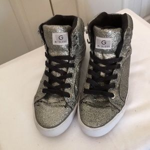 Guess Glitter Athletic Shoes